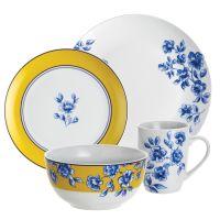 Paula Deen Dinnerware 16-Piece Porcelain Stoneware ...