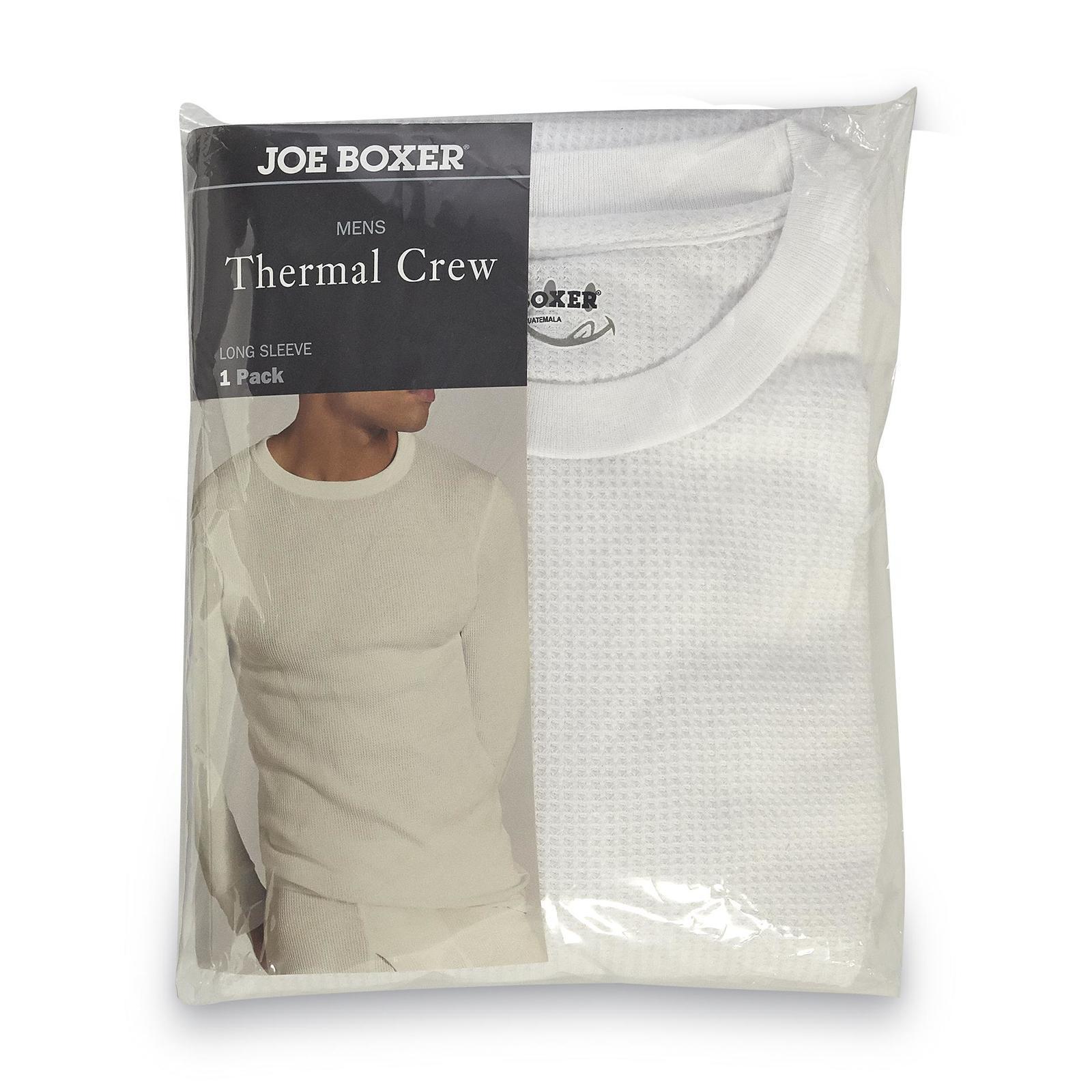 Joe Boxer Men' Crew Neck Thermal Shirt - Clothing Underwear