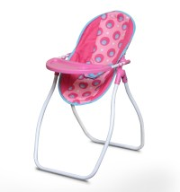 Highchair and Swing Carrier Seat Pink Doll Foldable Rocker ...