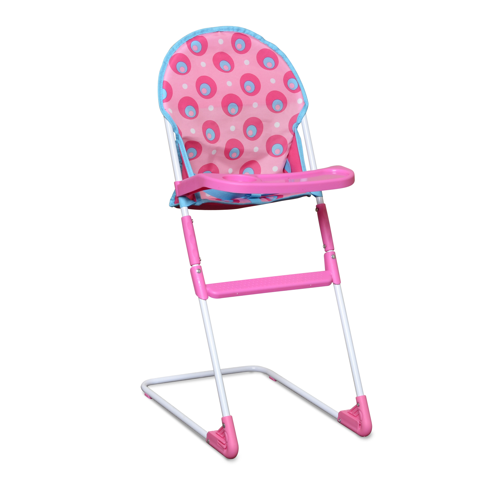 pink high chairs chair a half deluxe doll  kmart