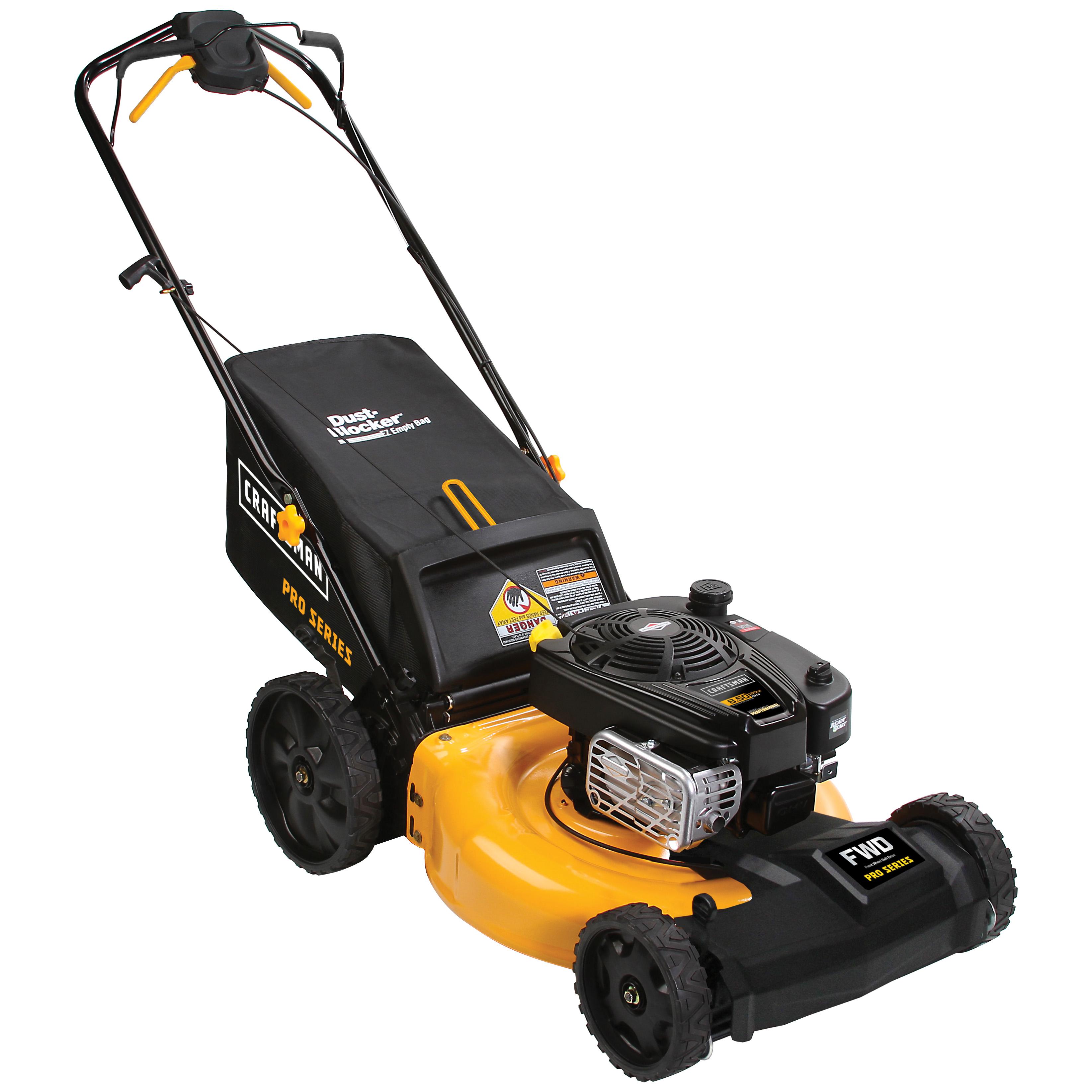 craftsman proseries 39760 21 190cc front wheel drive lawn mower  [ 3289 x 3289 Pixel ]