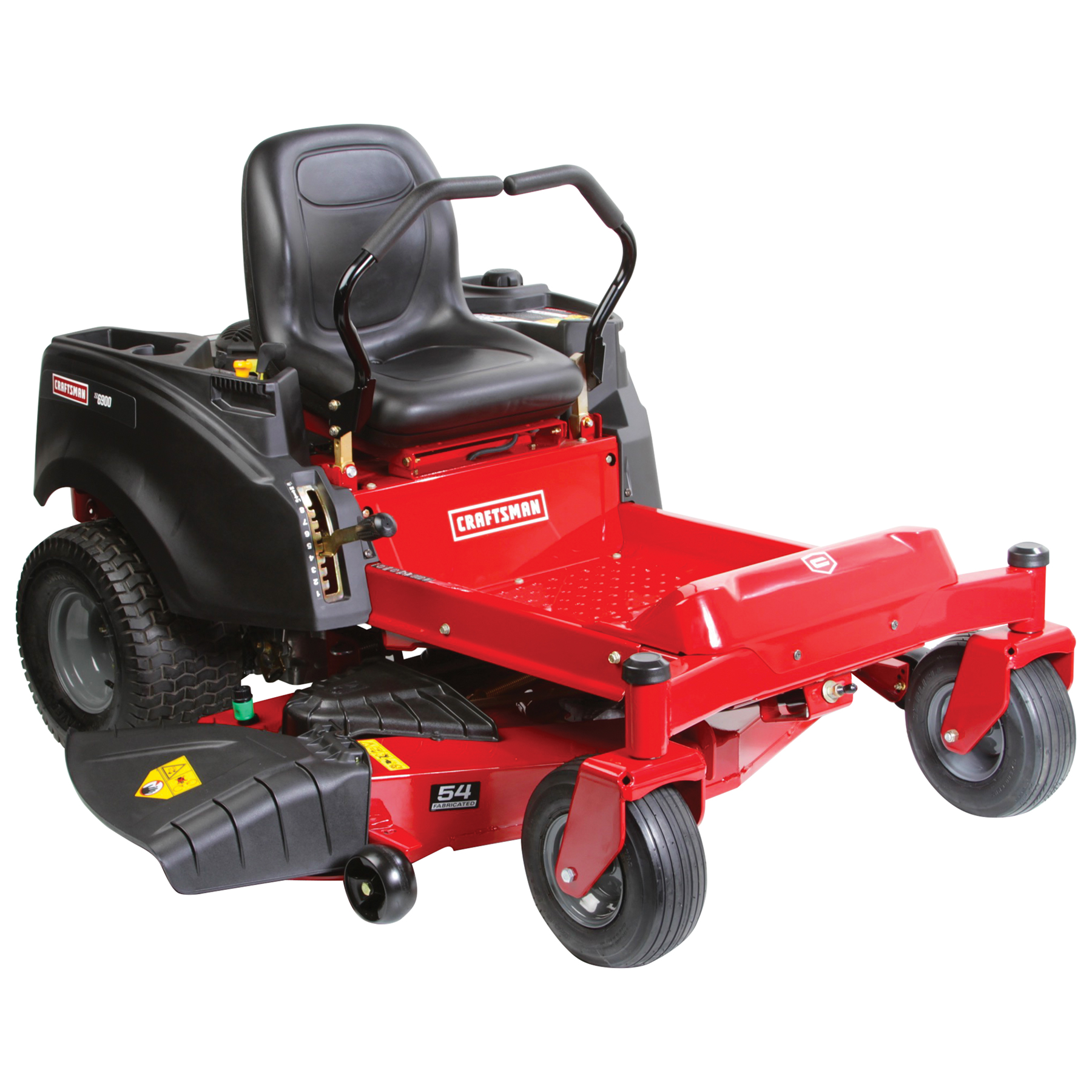 craftsman 27775 54 24 hp v twin kohler fabricated deck zero turn riding mower [ 1800 x 1800 Pixel ]