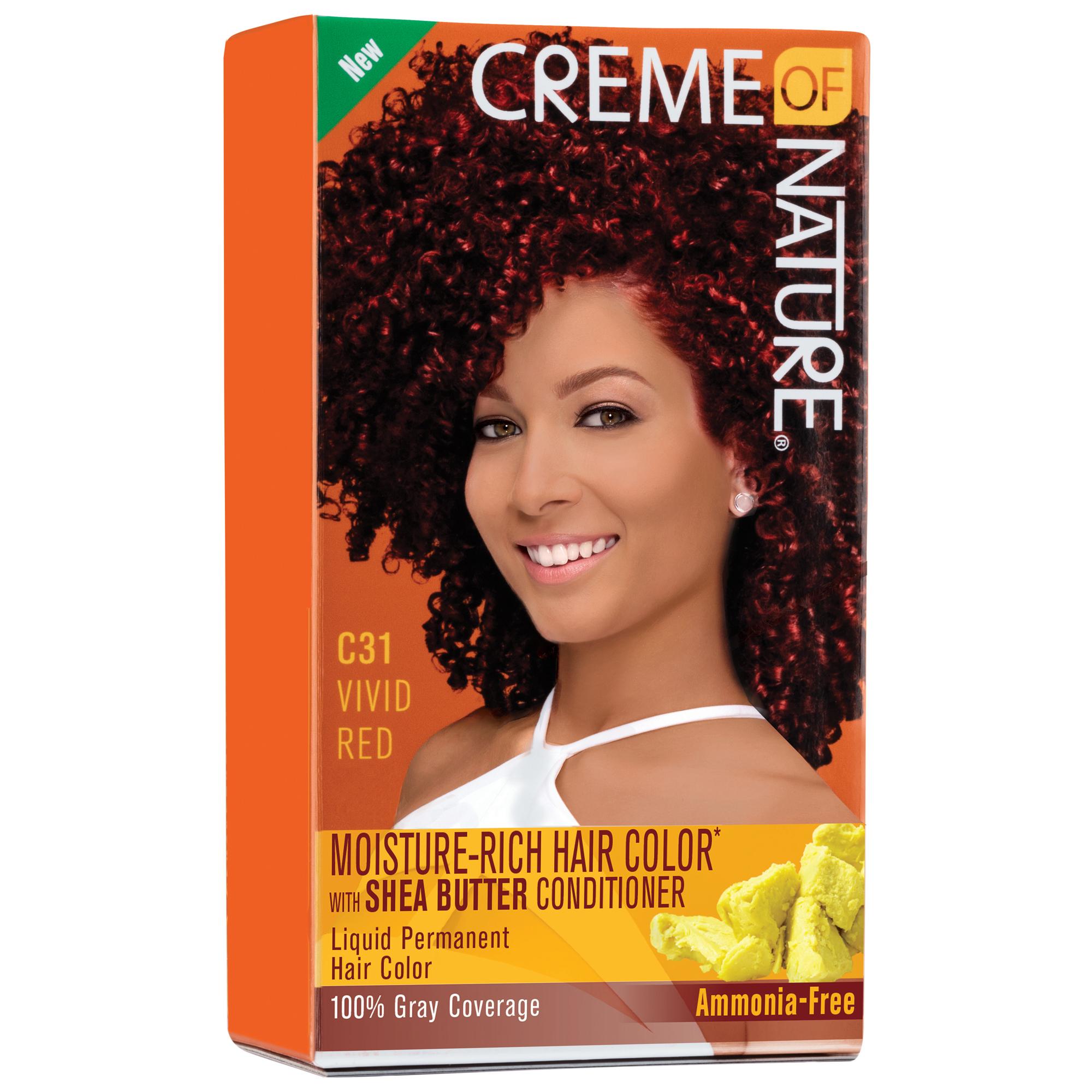 creme of nature moisture rich hair