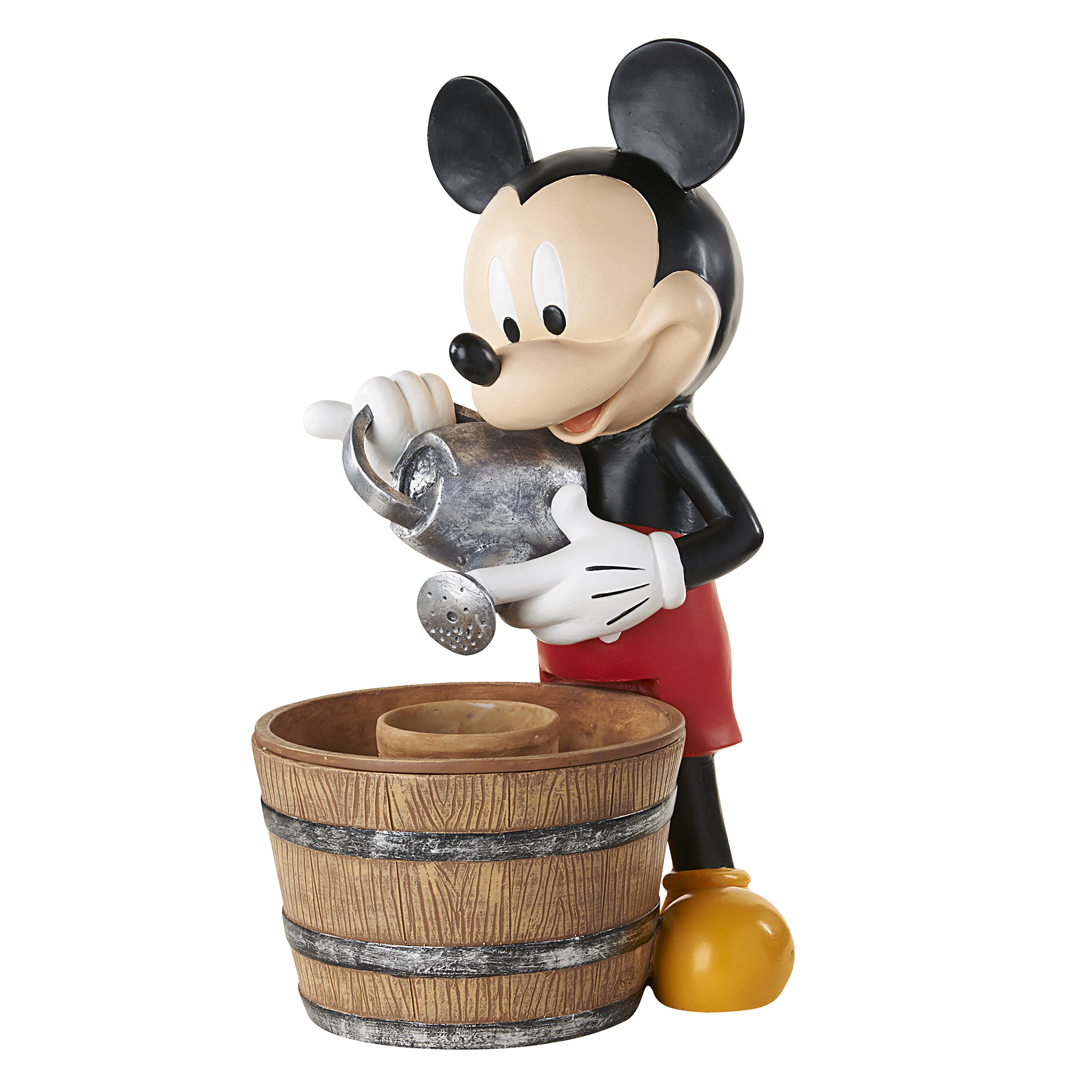 Disney Mickey Mouse Garden Fountain With Planter Limited