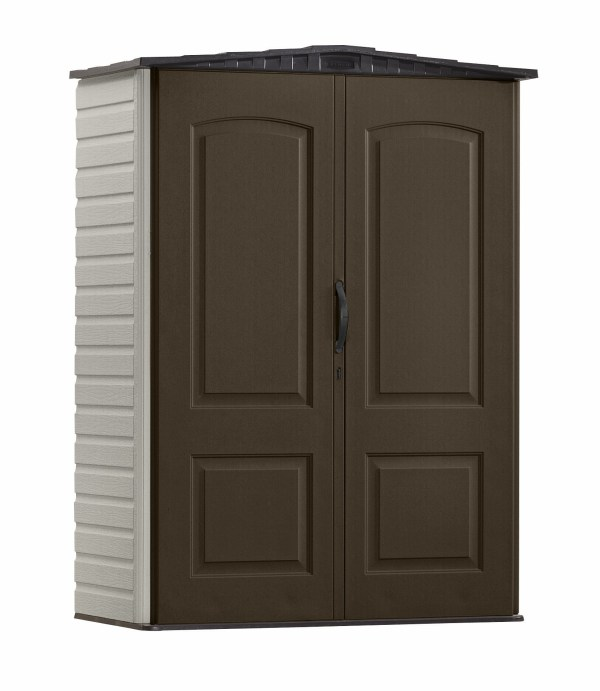 Rubbermaid 1967660 5' X 2' Vertical Storage Shed