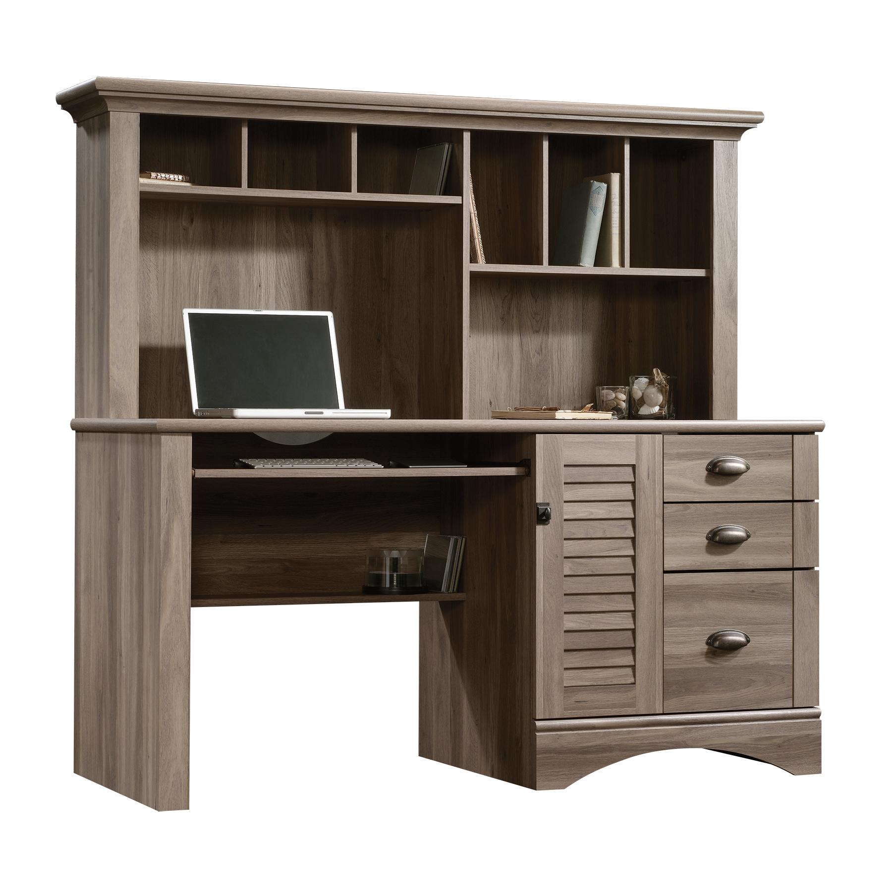 Sauder Harbor View Computer Desk wHutch  Shop Your Way