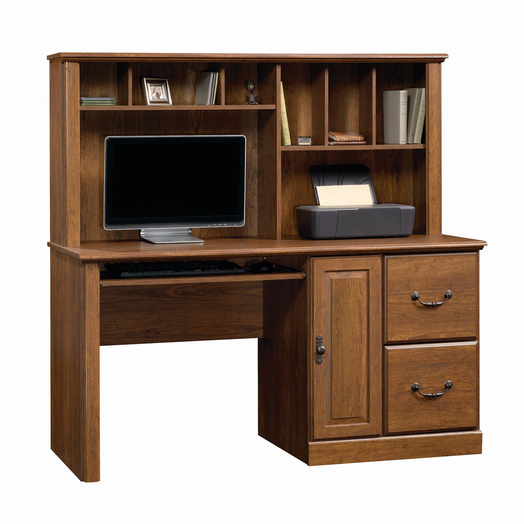 Sauder Orchard Hills Computer Desk wHutch