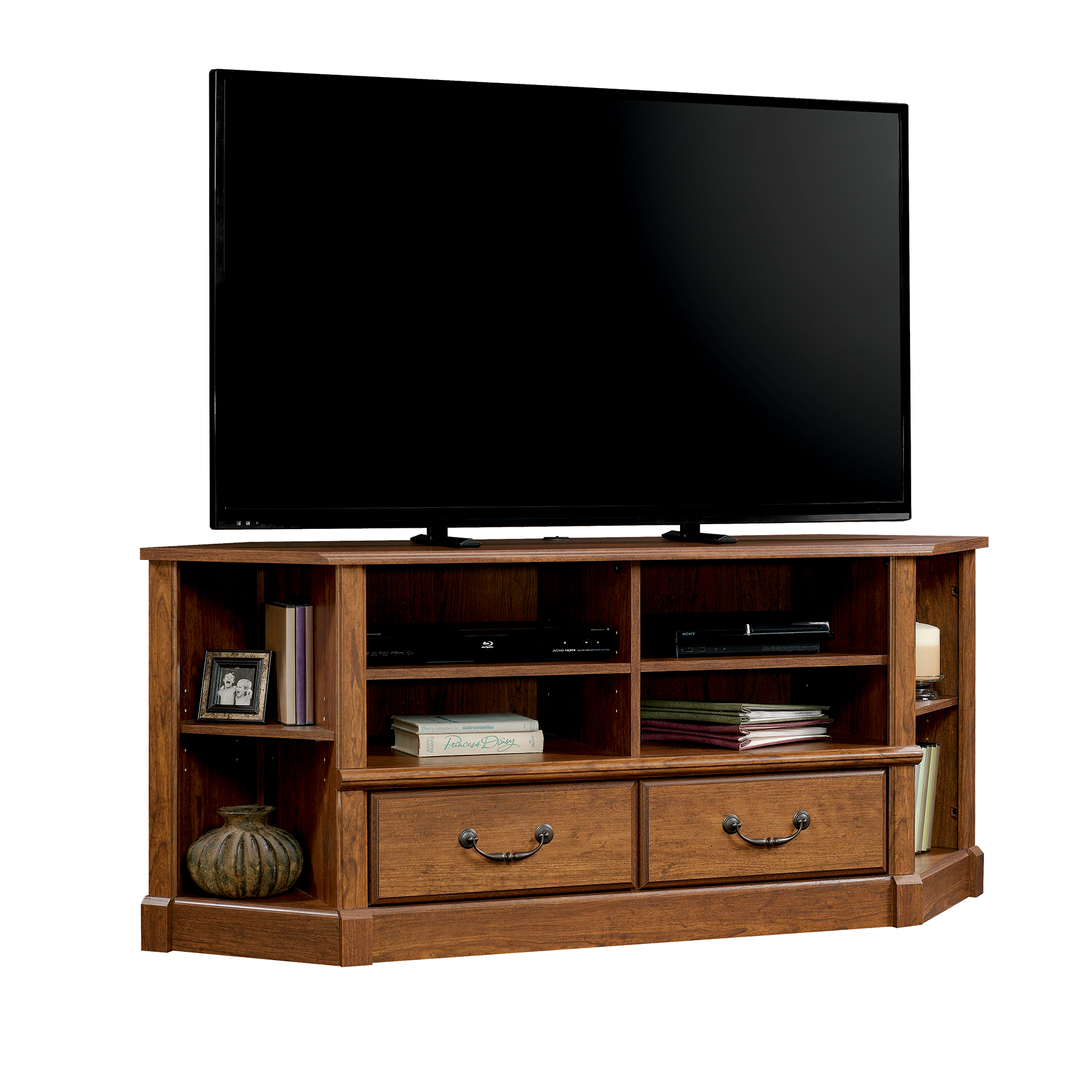 The Sauder Orchard Hills Corner Entertainment Credenza