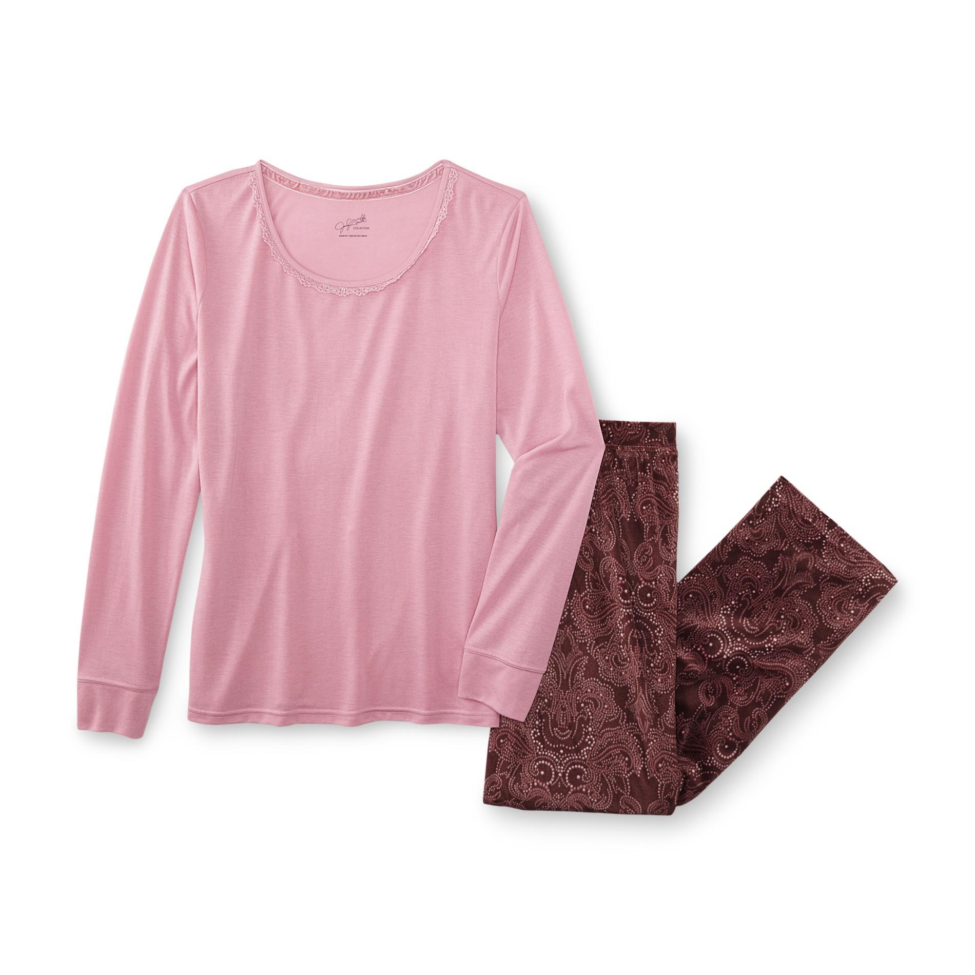 Jaclyn Smith Women' Pajamas - Paisley