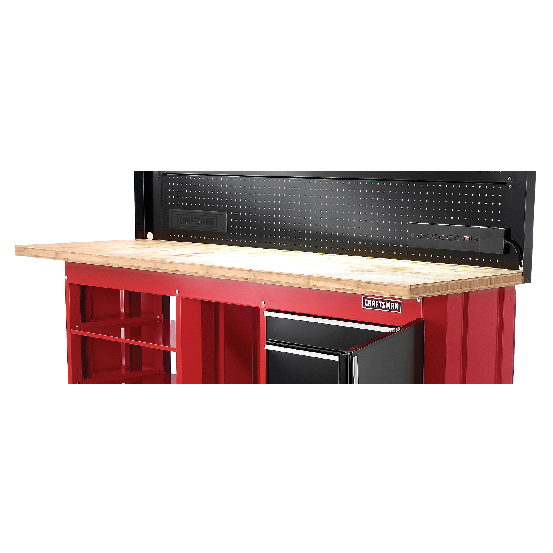 Bamboo workbench work surface: Sustainable and functional