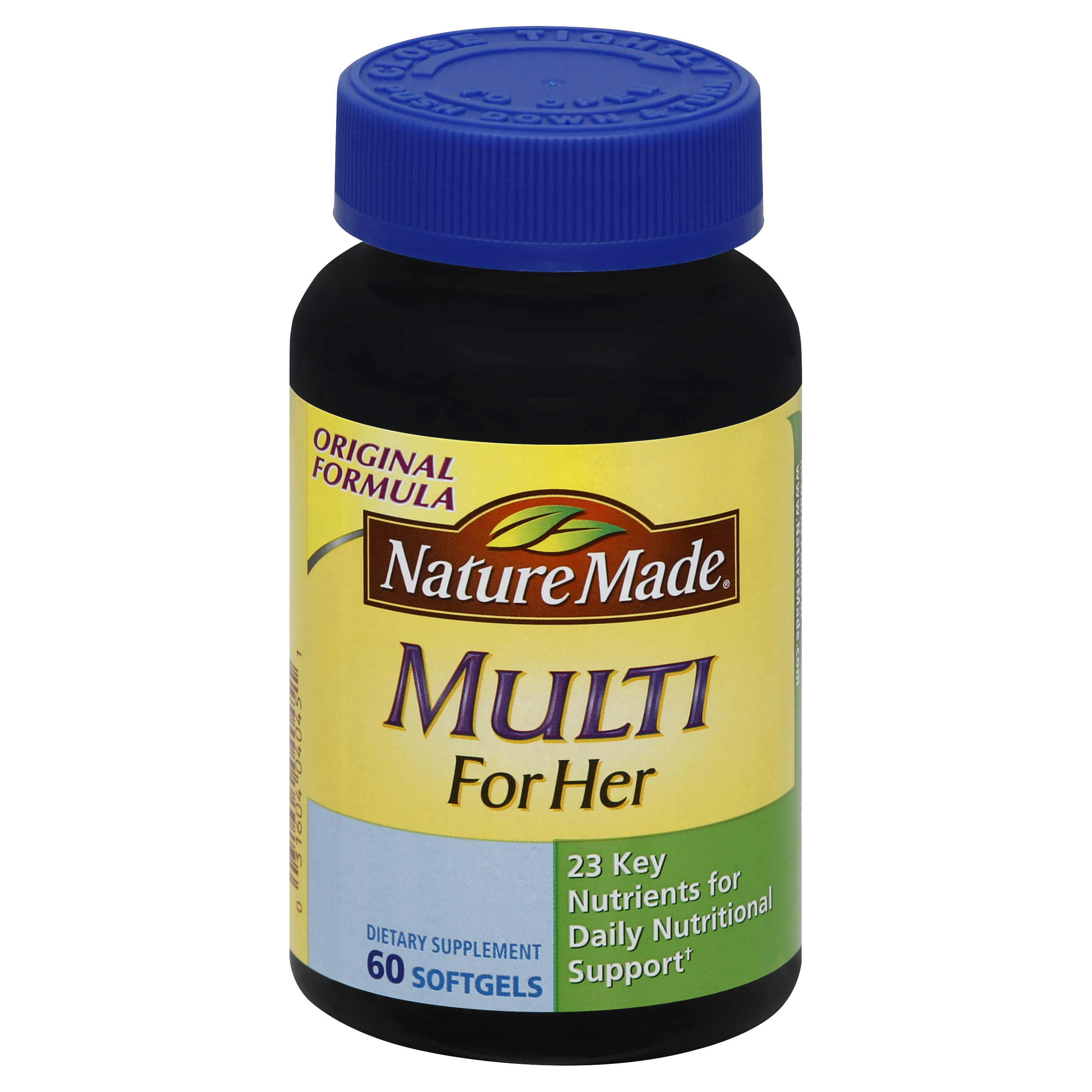 Nature Made Multi Vitamin for Her 60 Softgels