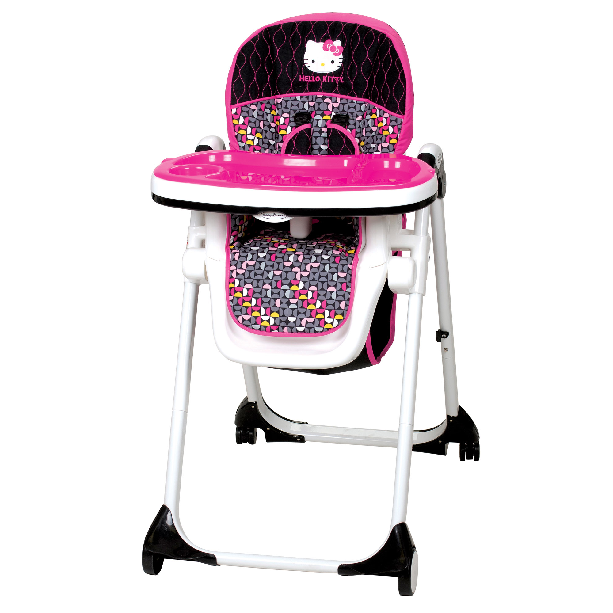 baby high chairs with wheels chair cover hire brighton hello kitty mylift pin wheel shop your way