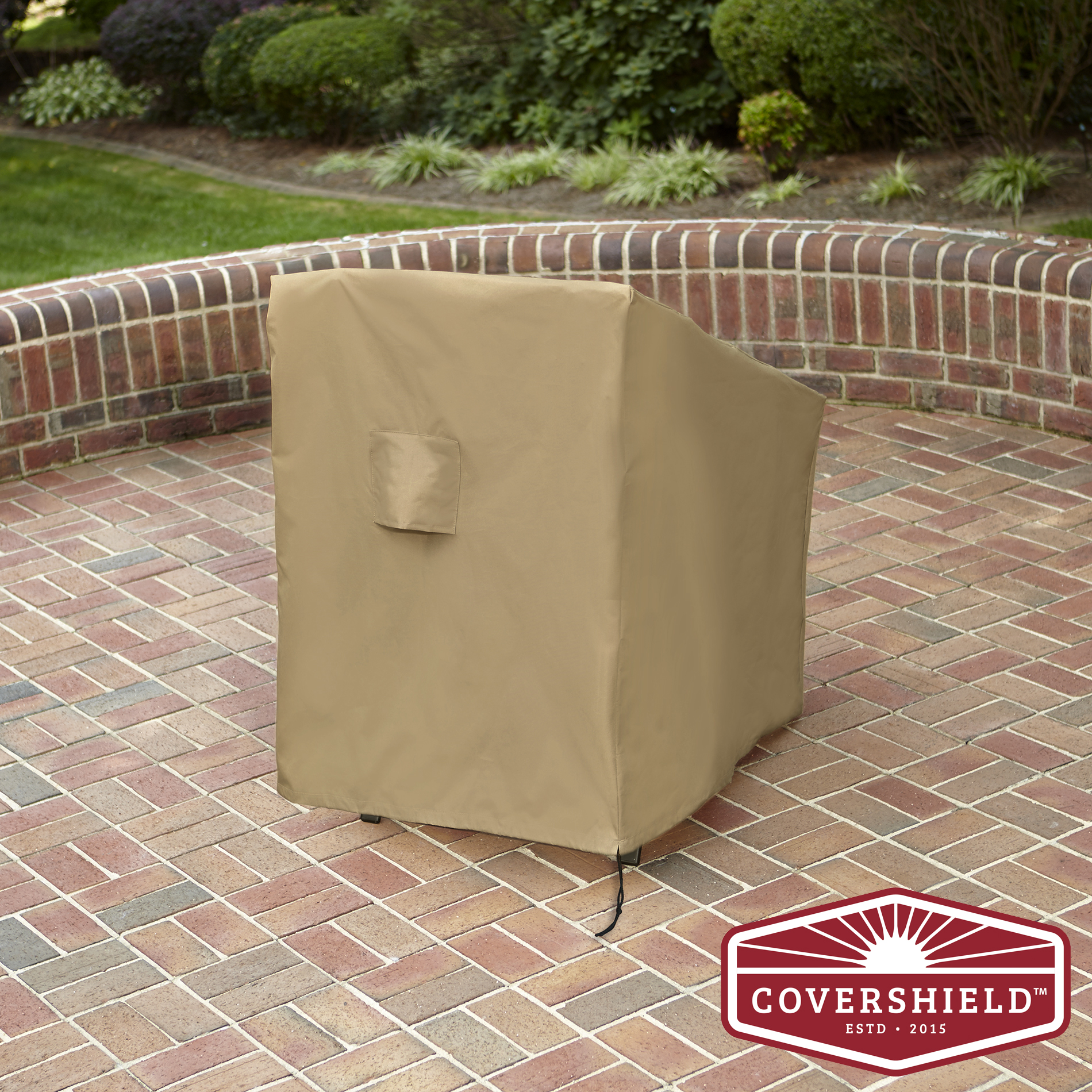 CoverShield StackBar Chair Patio Furniture Cover Deluxe