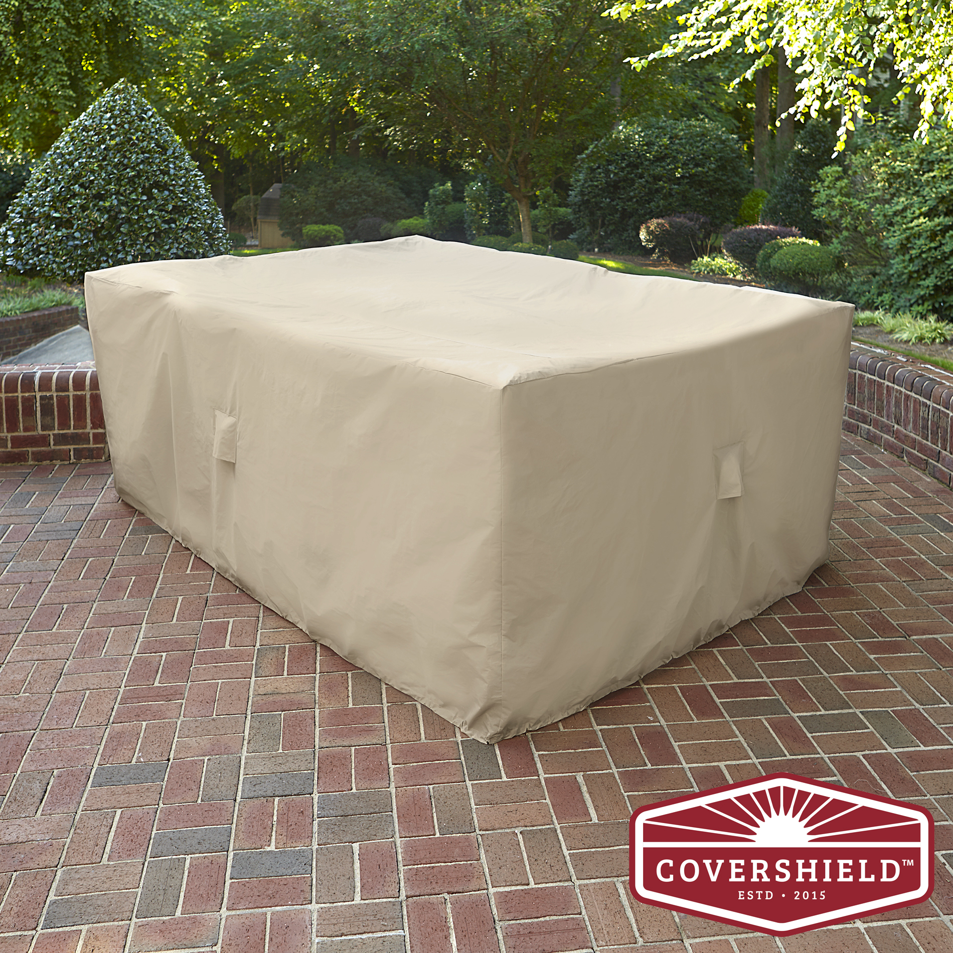 Covershield Rectangle Furniture Cover- Basic - Outdoor