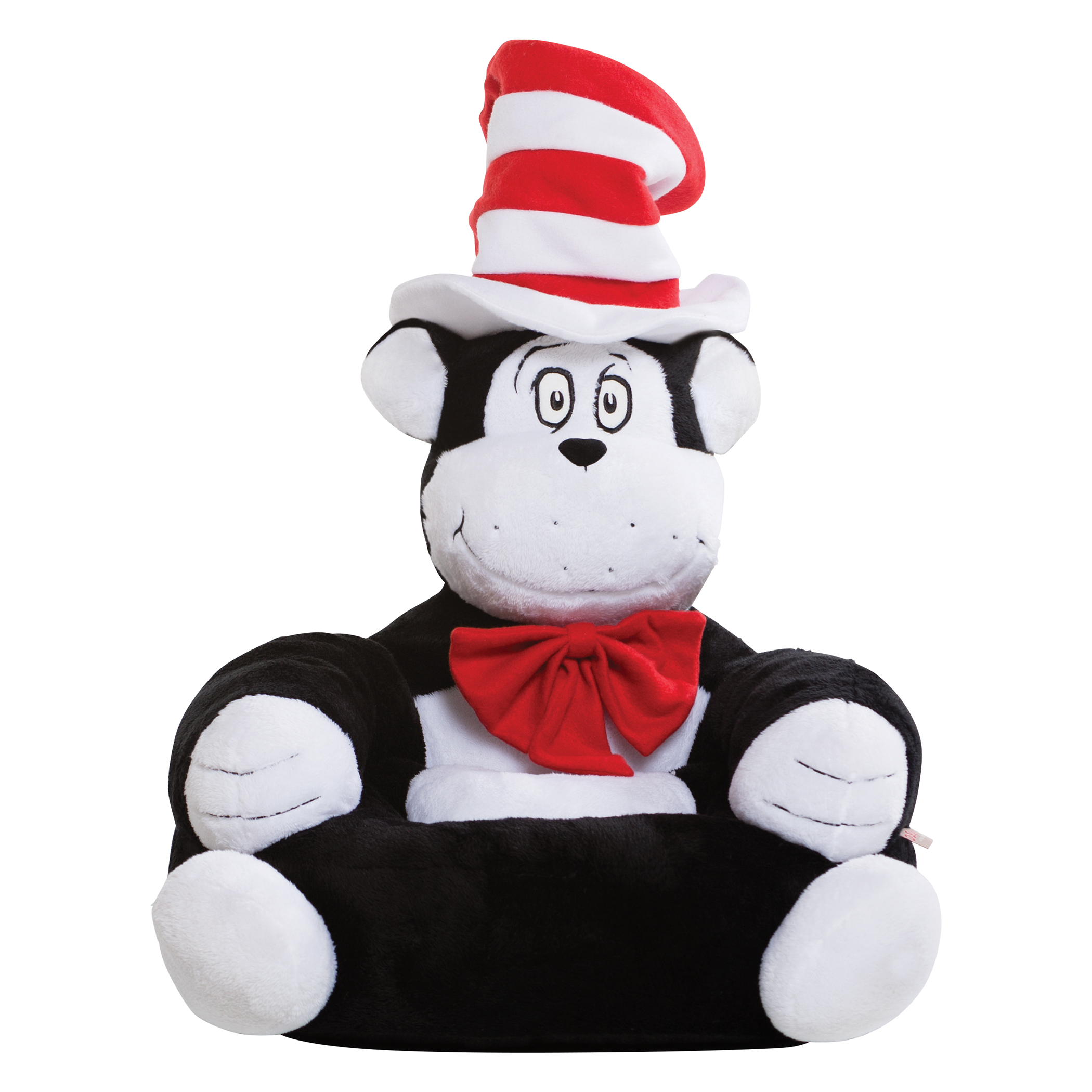 dr seuss chair cheap bean bag trend lab the cat in hat children 39s plush