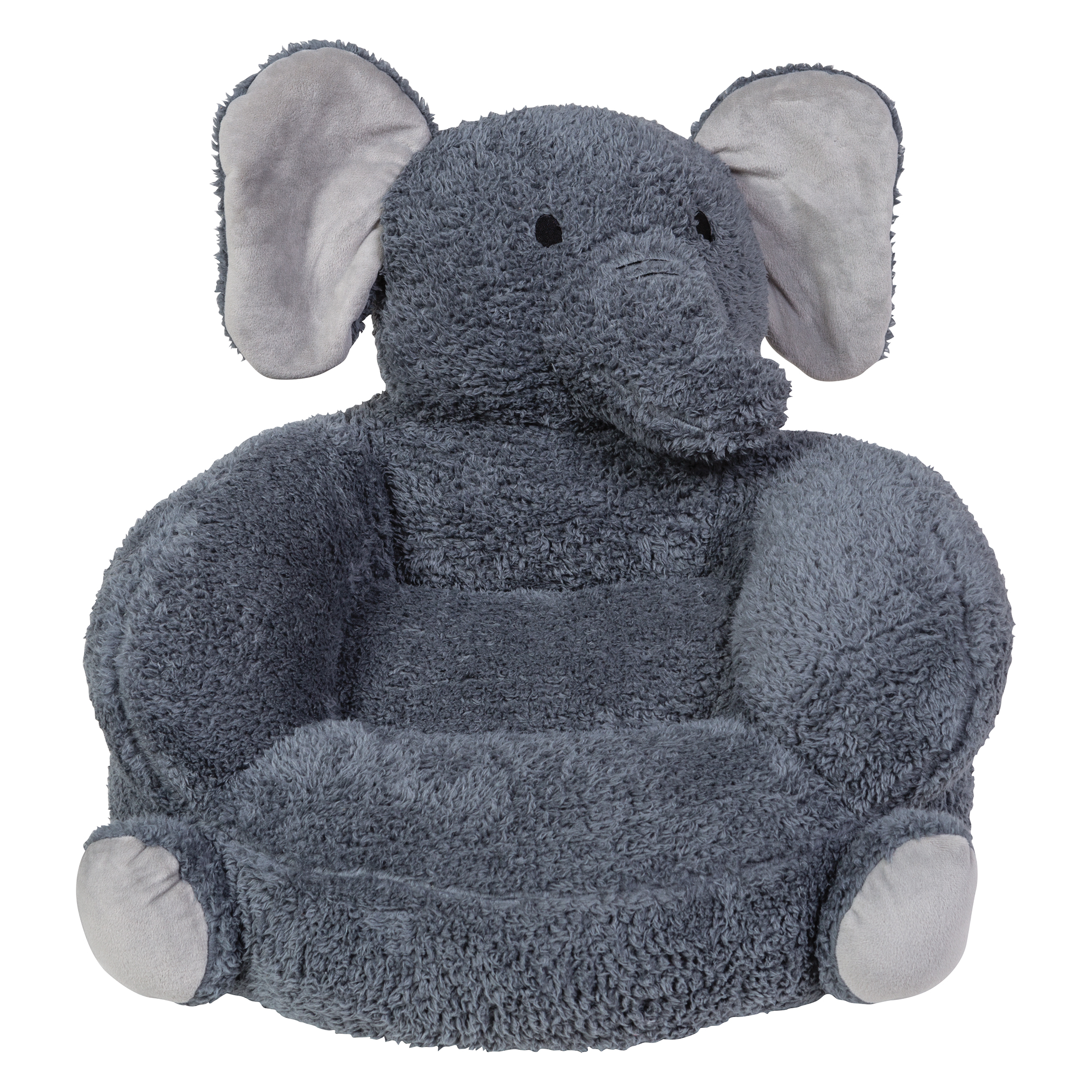 childrens plush chairs polywood lounge trend lab children 39s elephant character chair