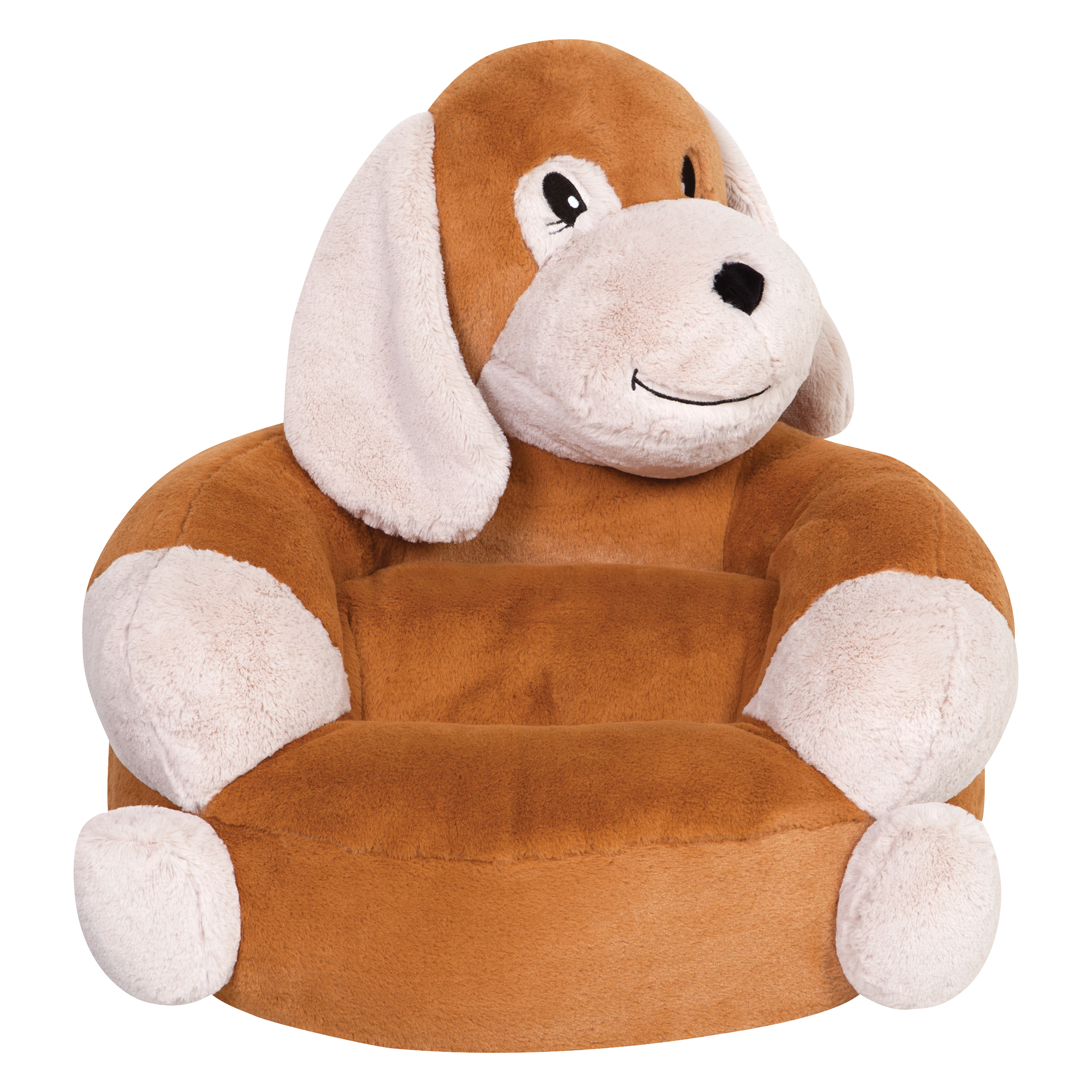 children s stuffed animal chairs baxton studio chair reviews trend lab 39s plush puppy character