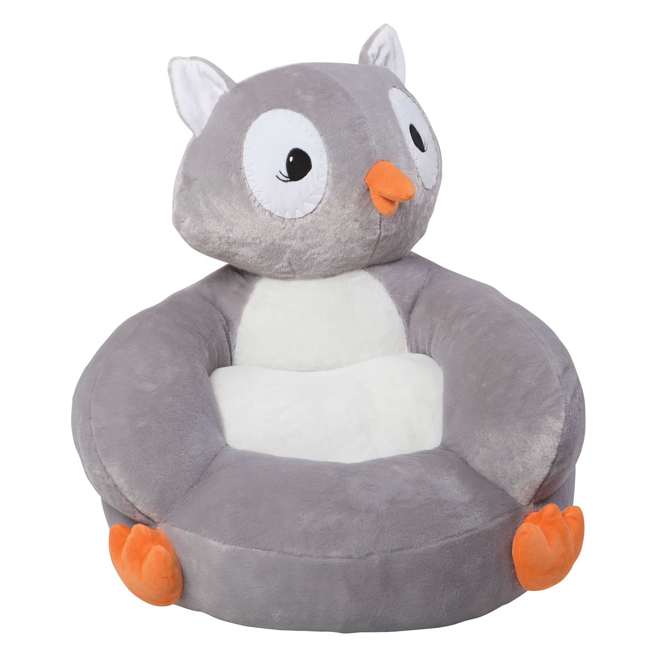 Plush Toddler Chair Trend Lab 102652 Children 39s Plush Owl Character Chair