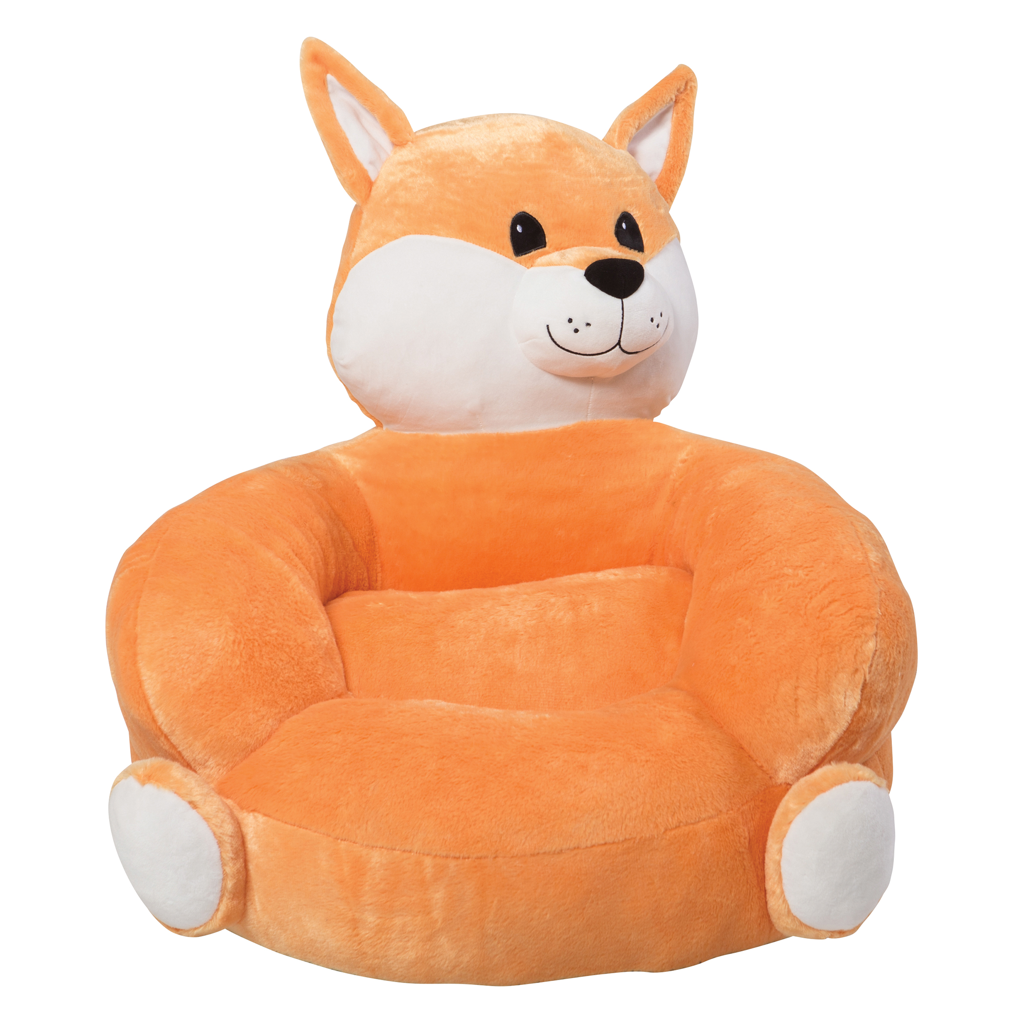 kids character chairs two person chair trend lab children 39s plush fox sears
