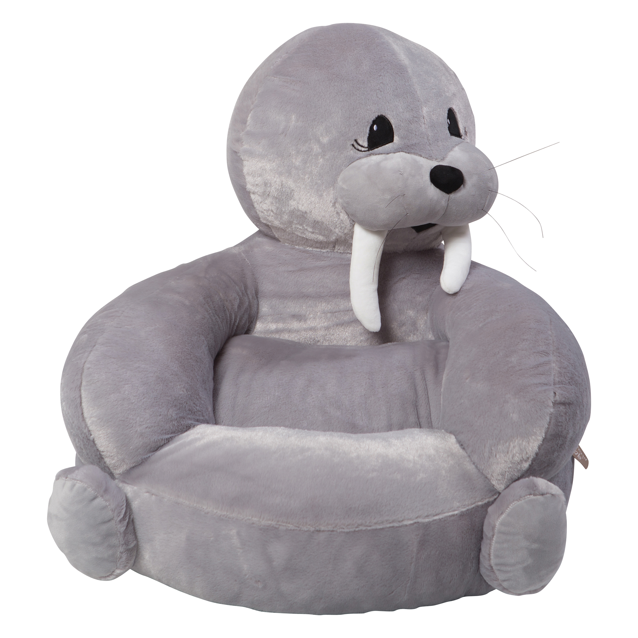 childrens plush chairs pier 1 dining trend lab 102655 children 39s character chair walrus