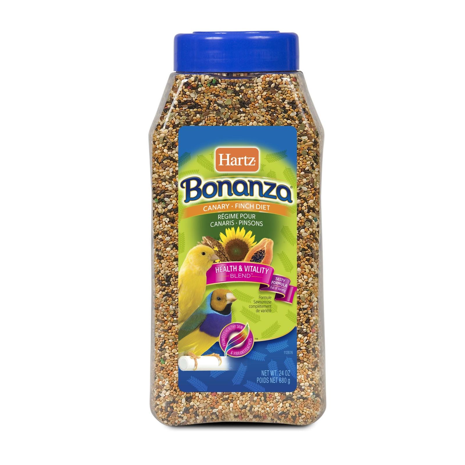 Hartz Nutrition Bonanza Finch Gourmet Diet 24 oz 680 g