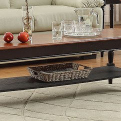Country Cote Sofa Table Grey Cushions Large Convenience Concepts French Coffee Home
