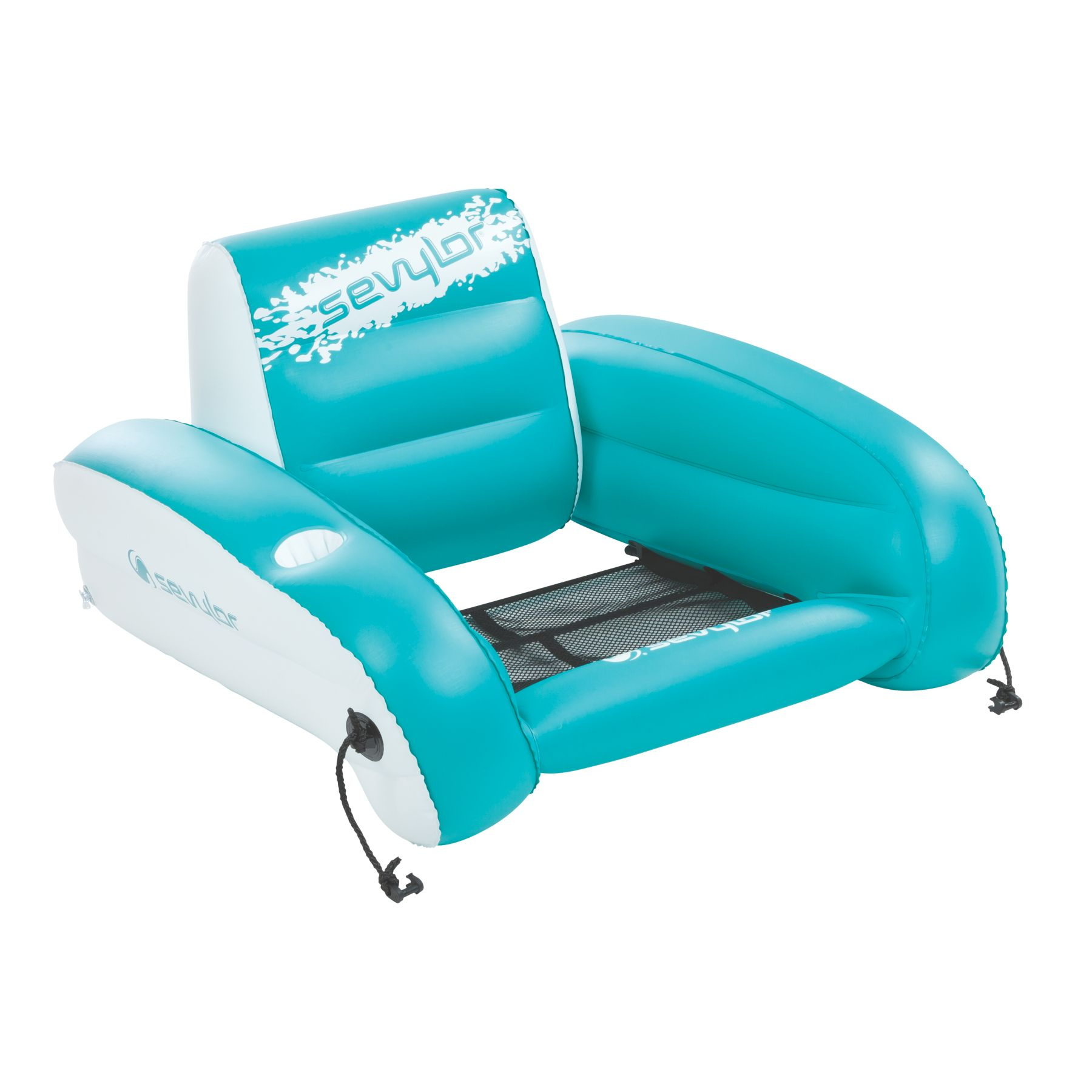 chair pool floats folding covers spandex sevylor water lounge