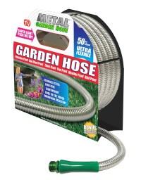 As Seen On TV 50Ft Metal Garden Hose