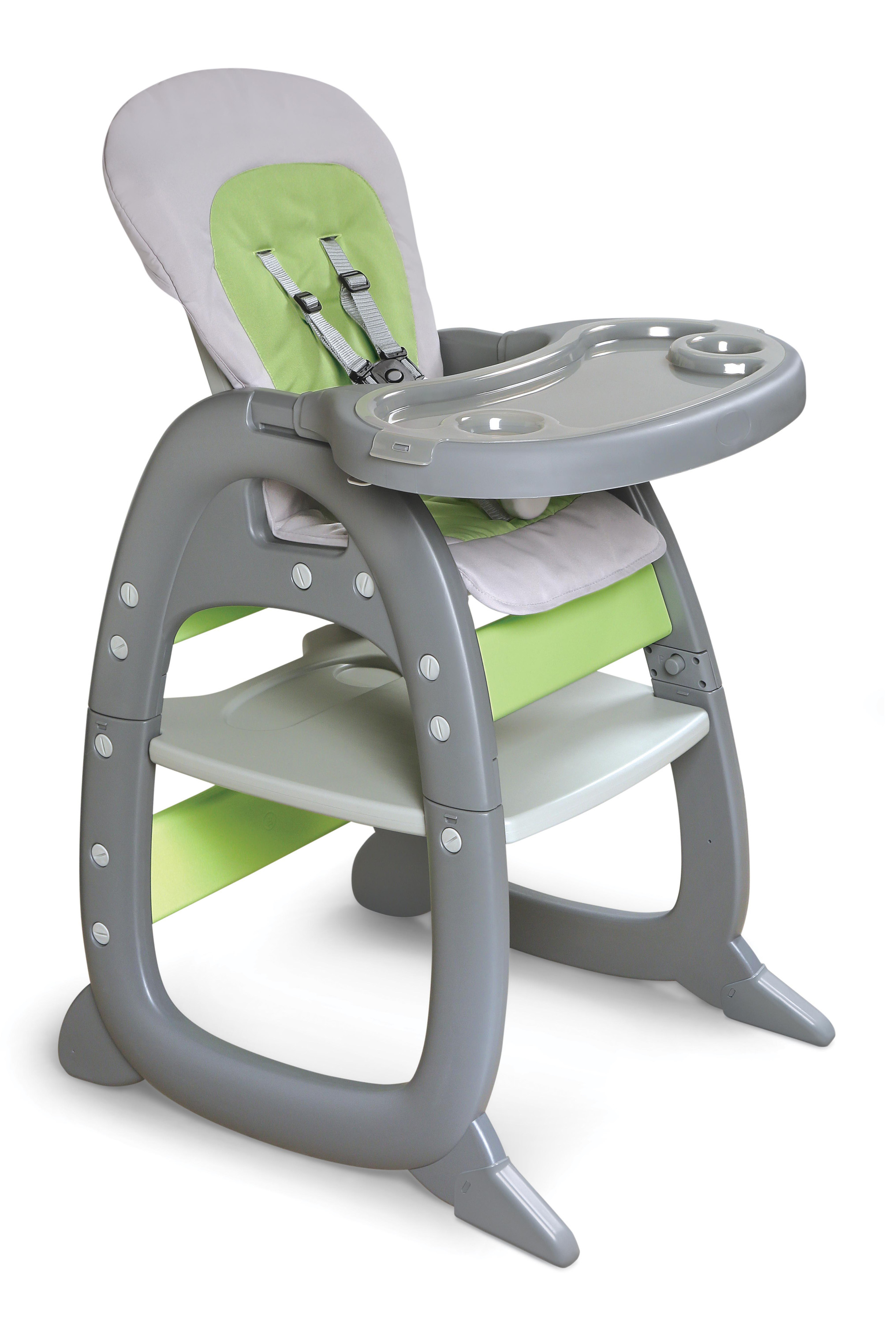 badger basket high chair best bean bag chairs for adults envee ii baby with playtable