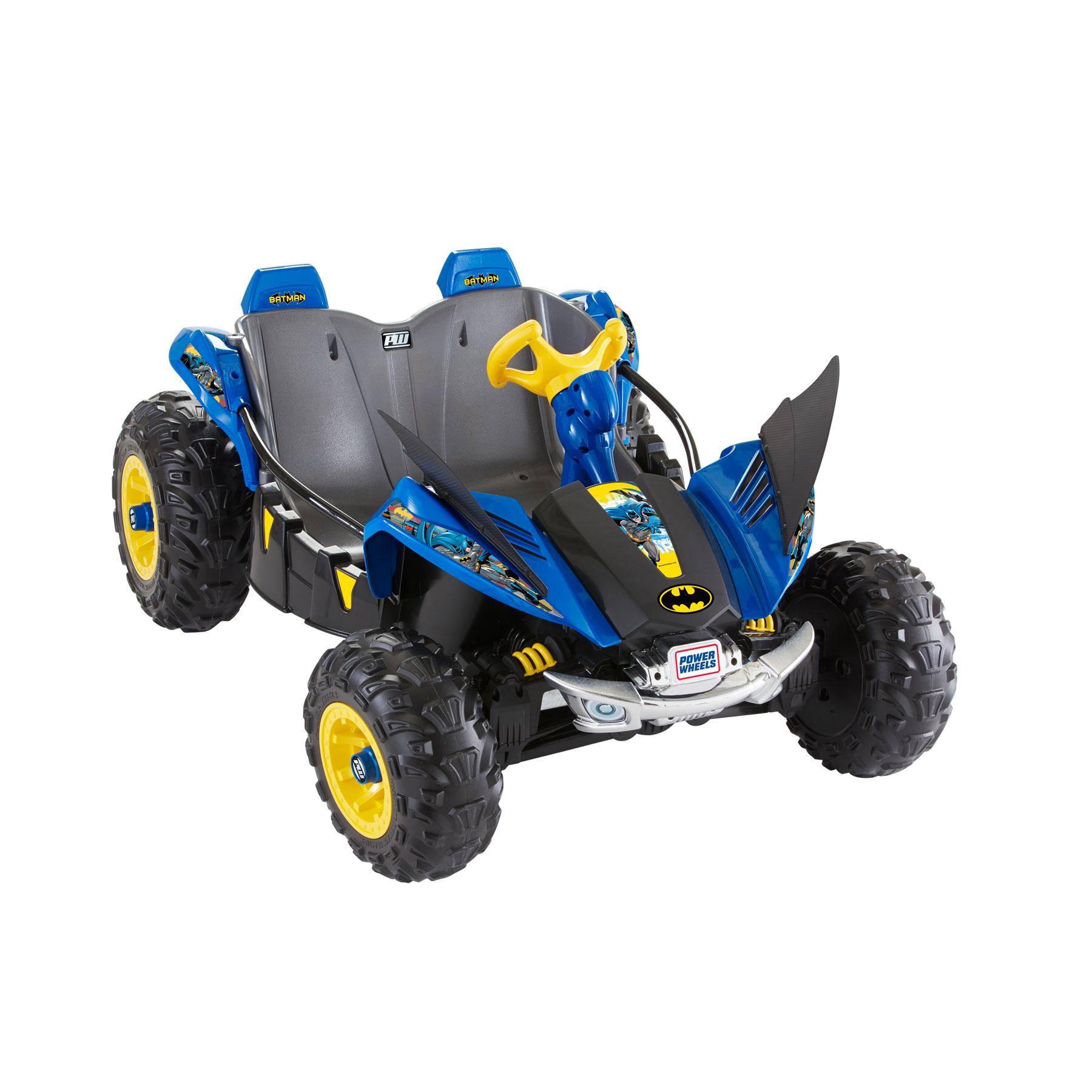 Power Wheels 12v Battery Toy Ride- - Batman Dune Racer