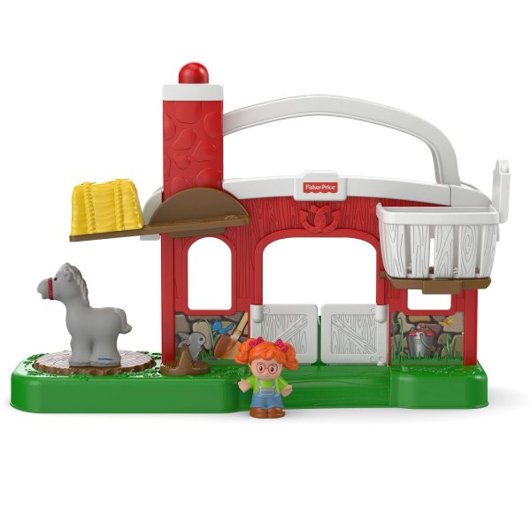Fisher-Price Dollhouse with Stable