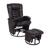 Essential Home Glider/Recliner with Ottoman