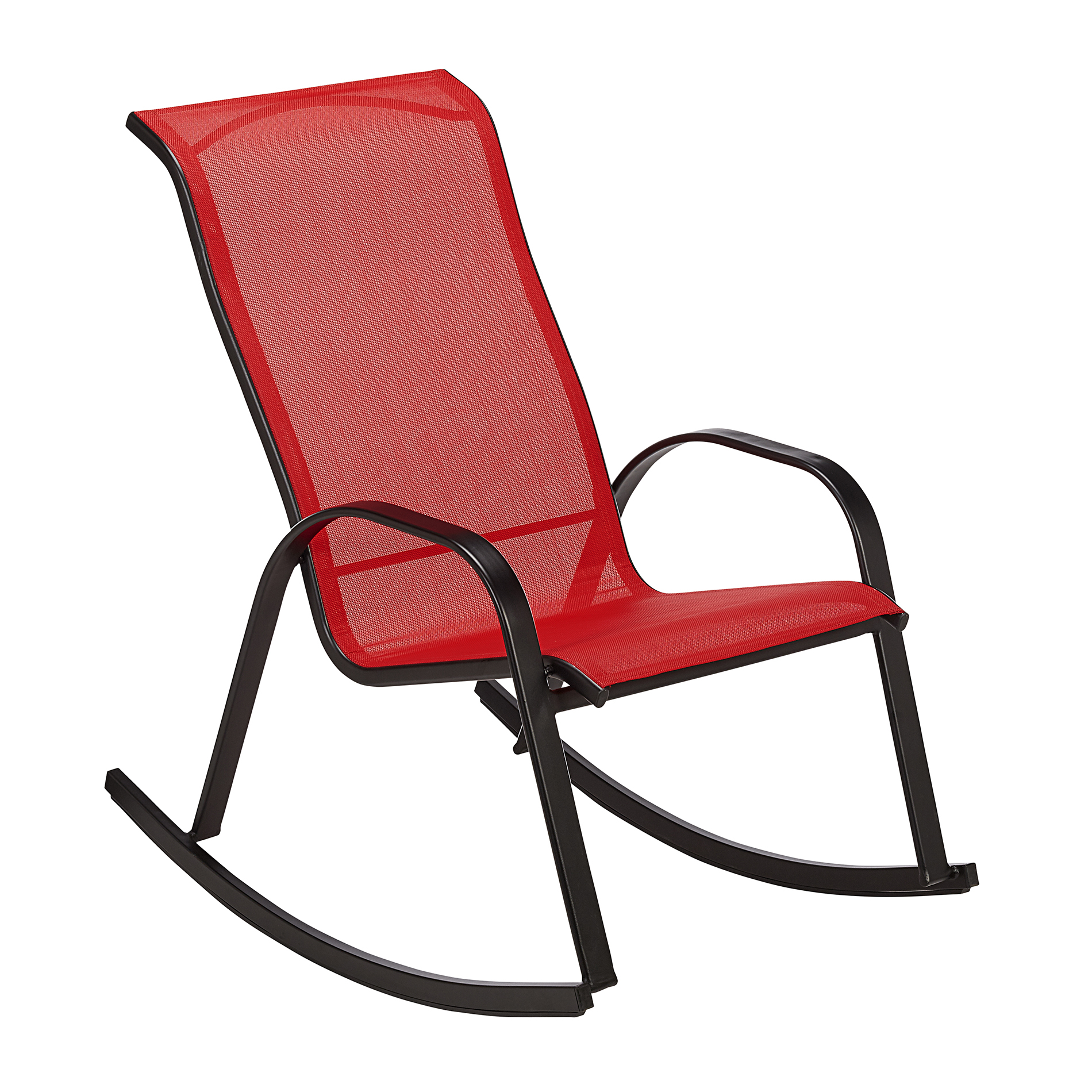 Essential Garden Bartlett Stack Rocker in Red  Kmart