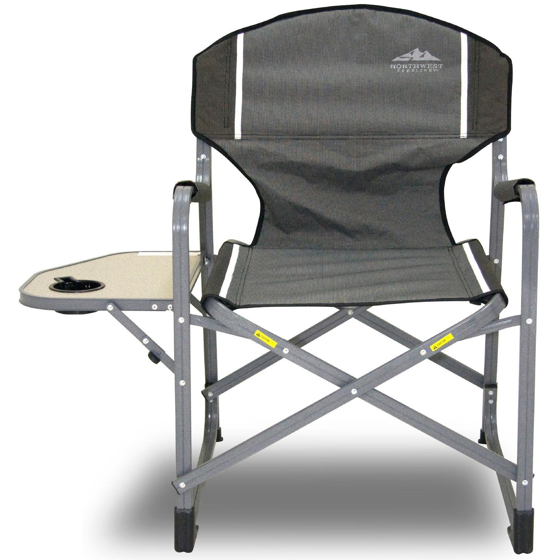 Camping Directors Chair Northwest Territory Directors Camping Chair Gray