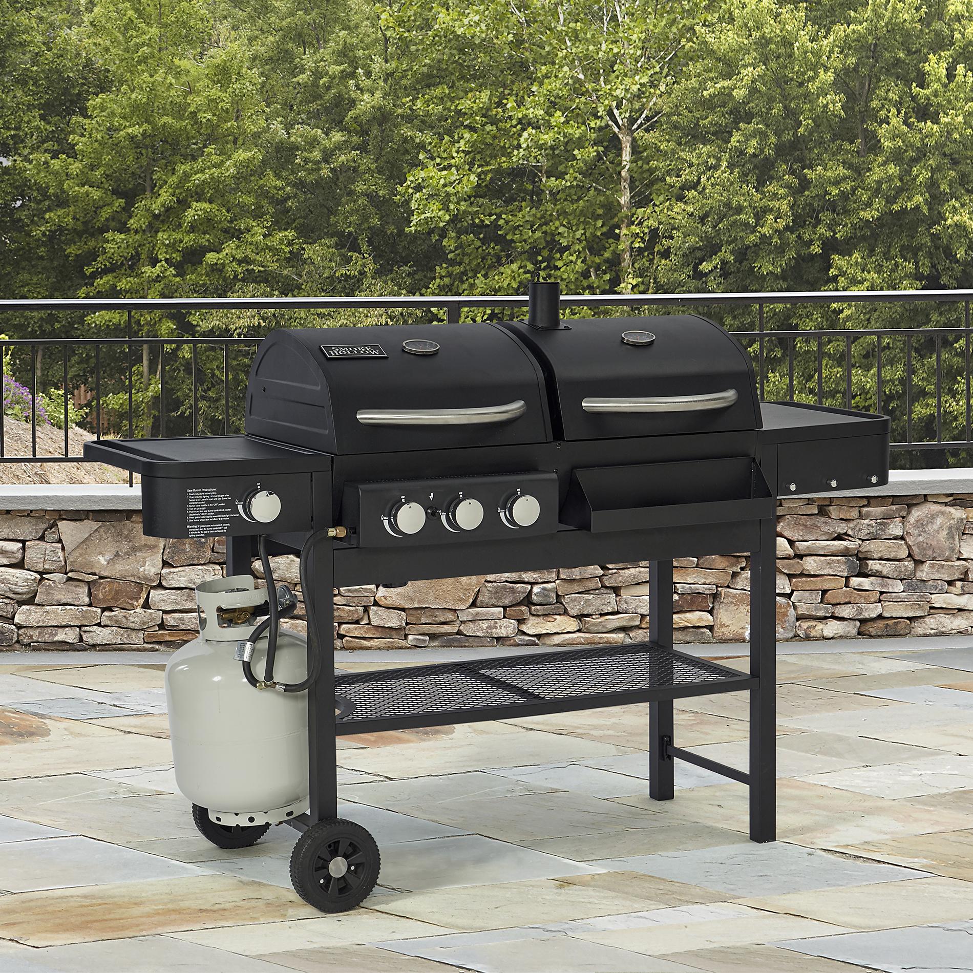Smoke Hollow Gas Charcoal Smoker Grill