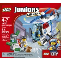 LEGO Juniors: Police Helicopter #10720 - Toys & Games ...