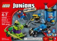 LEGO Juniors Batman & Superman vs. Lex Luthor #10724 ...