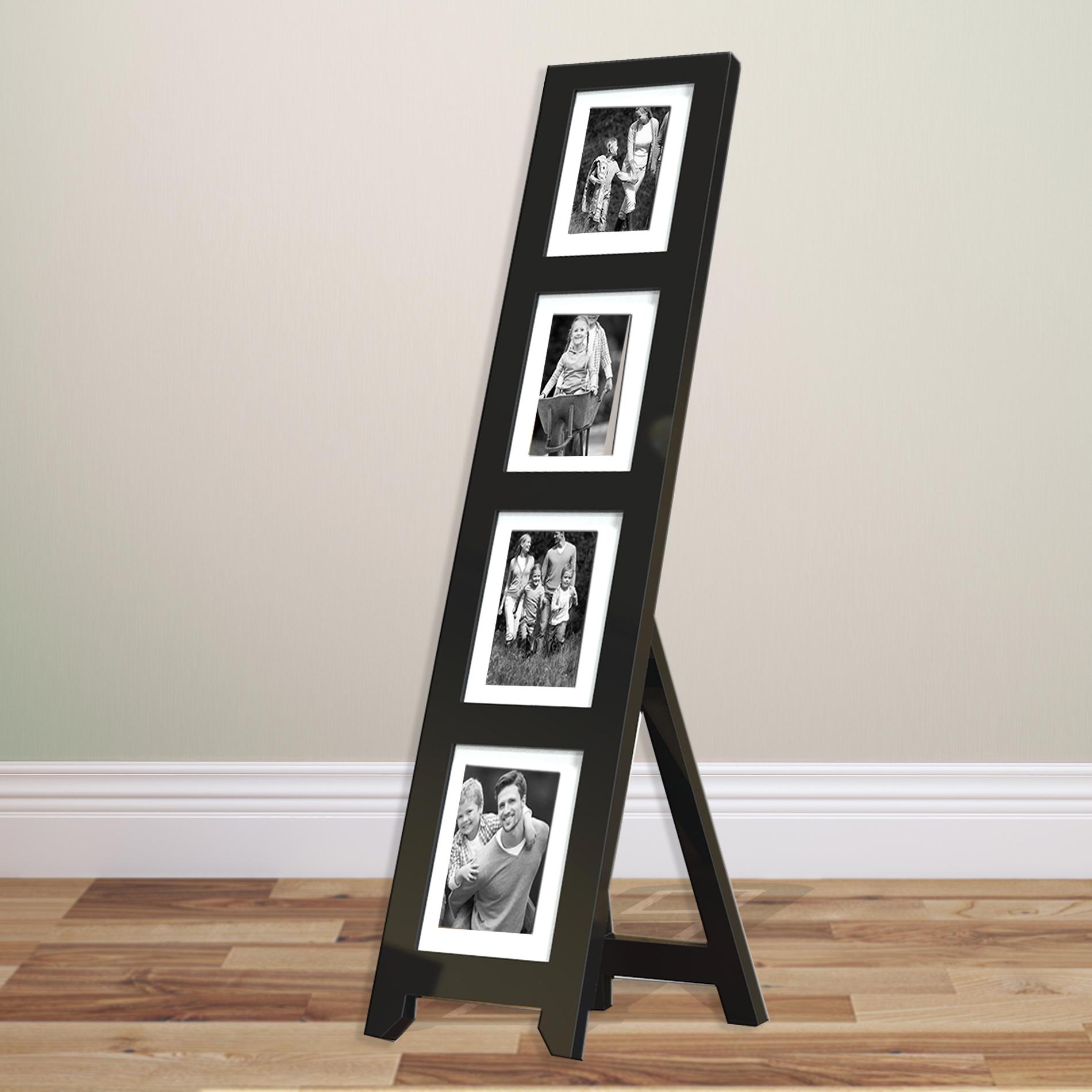 Ladder Collage Picture Frame  Easel Back Photo Collage Frame