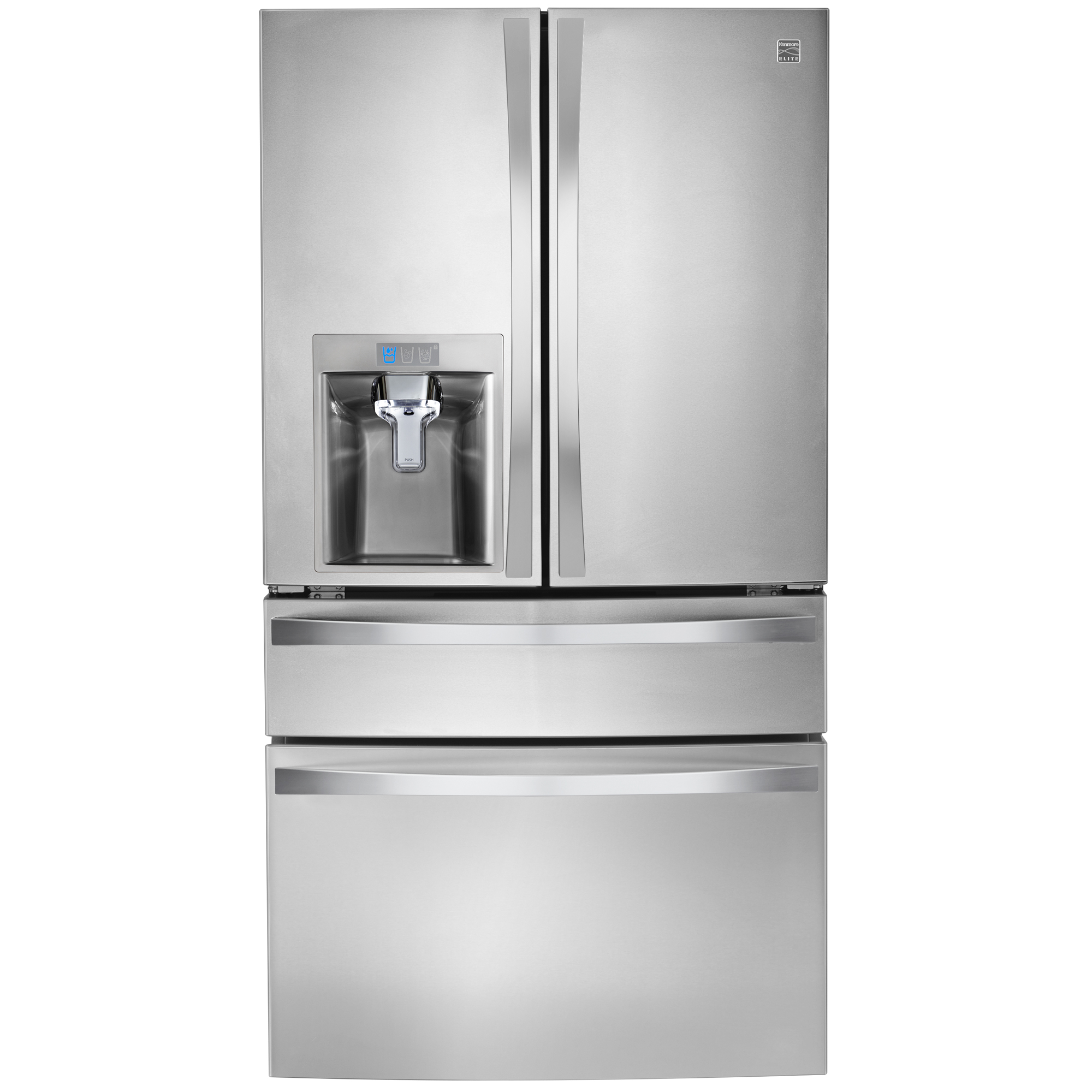 kitchen appliances pay monthly island base only kenmore 72483 29 9 cu ft 4 door bottom freezer fridgesears