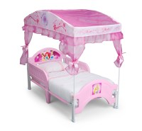 Delta Children Disney Princess Canopy Toddler Bed - Baby ...