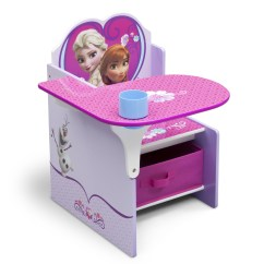 Chair For Toddler Girl Plastic Stool Malaysia Delta Children Frozen Desk With Storage Bin Baby