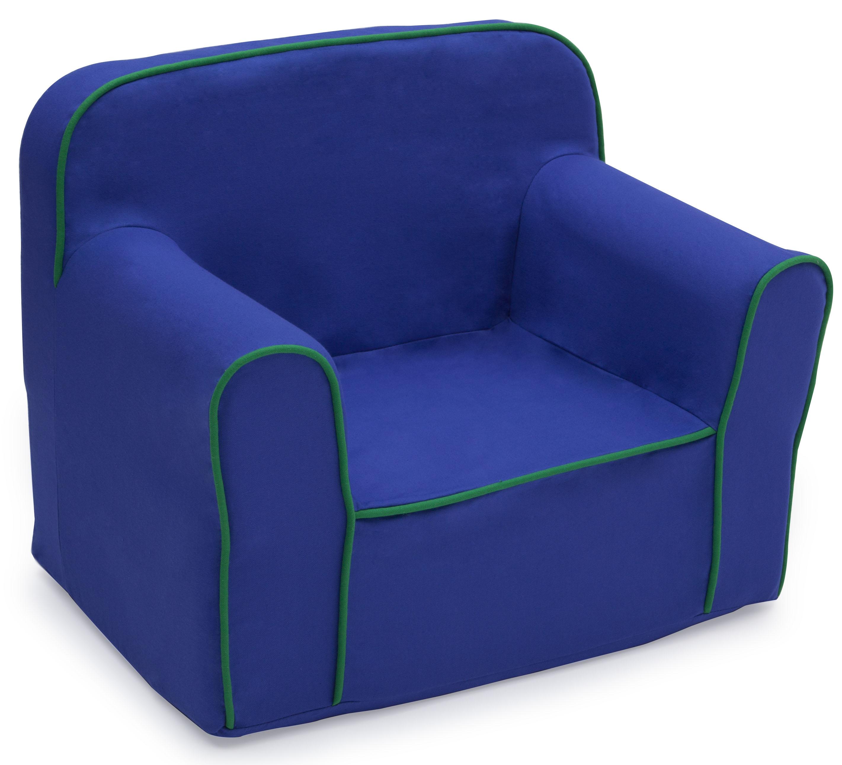 toddler foam chair target saucer delta children snuggle blue