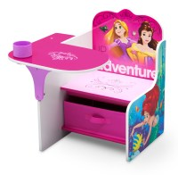 Disney Princess Chair Desk with Storage Bin