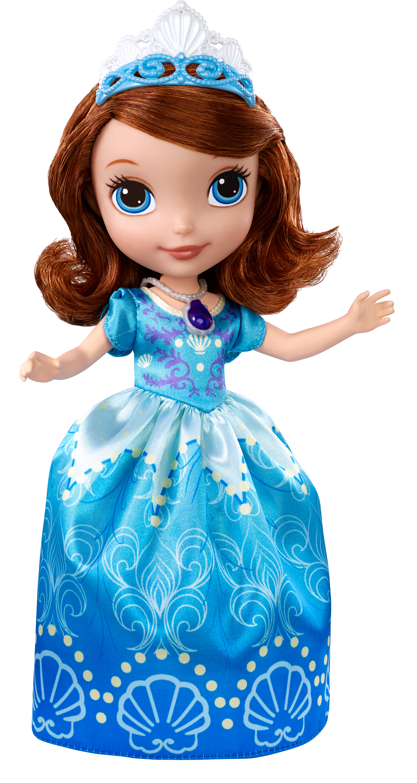 Disney Sofia The First Princess 9 Sofia In Seashell Dress
