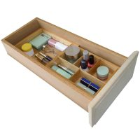 Axis Natural Wood Expandable Small Drawer Organizer - Home ...