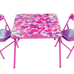 Pink Camo Lawn Chair Swivel Lubrication Gener8 Table And Chairs