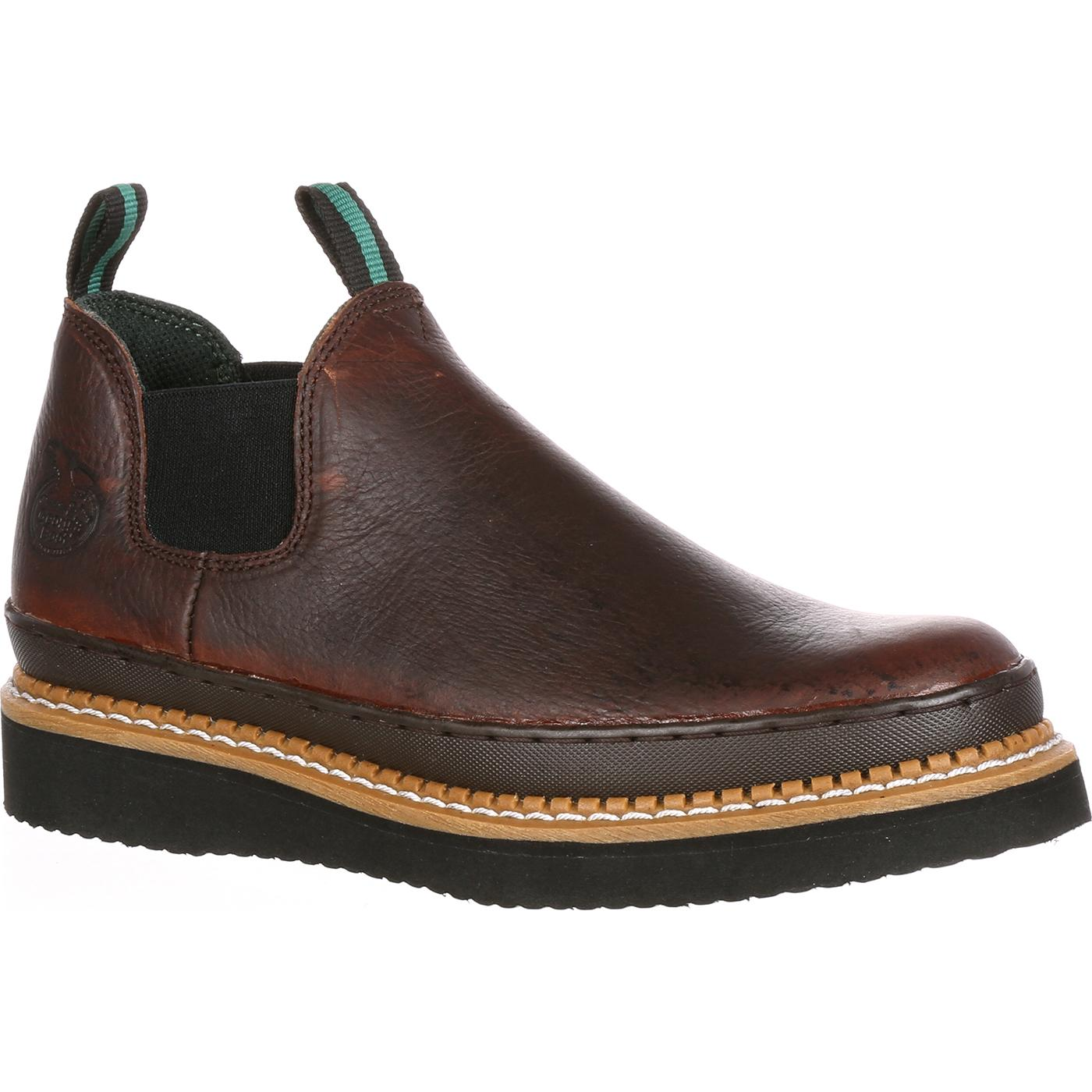 "Georgia Boot Men Leather 5"" Romeo - Wide Width"