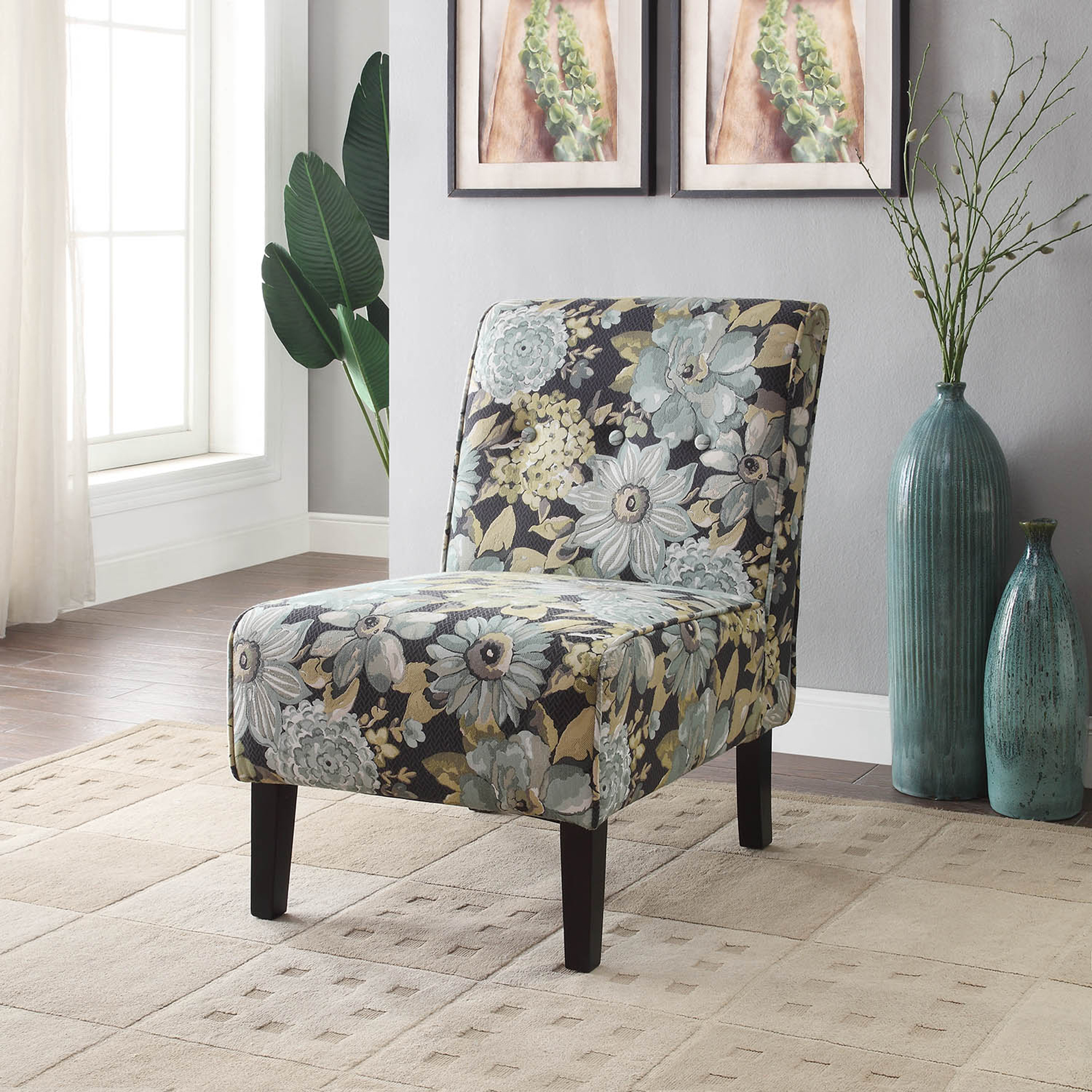 sears accent chairs french bistro dining room linon coco geranium chair