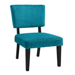 Sears Accent Chairs White For Bedroom Linon Taylor Teal Blue Chair Shop Your Way