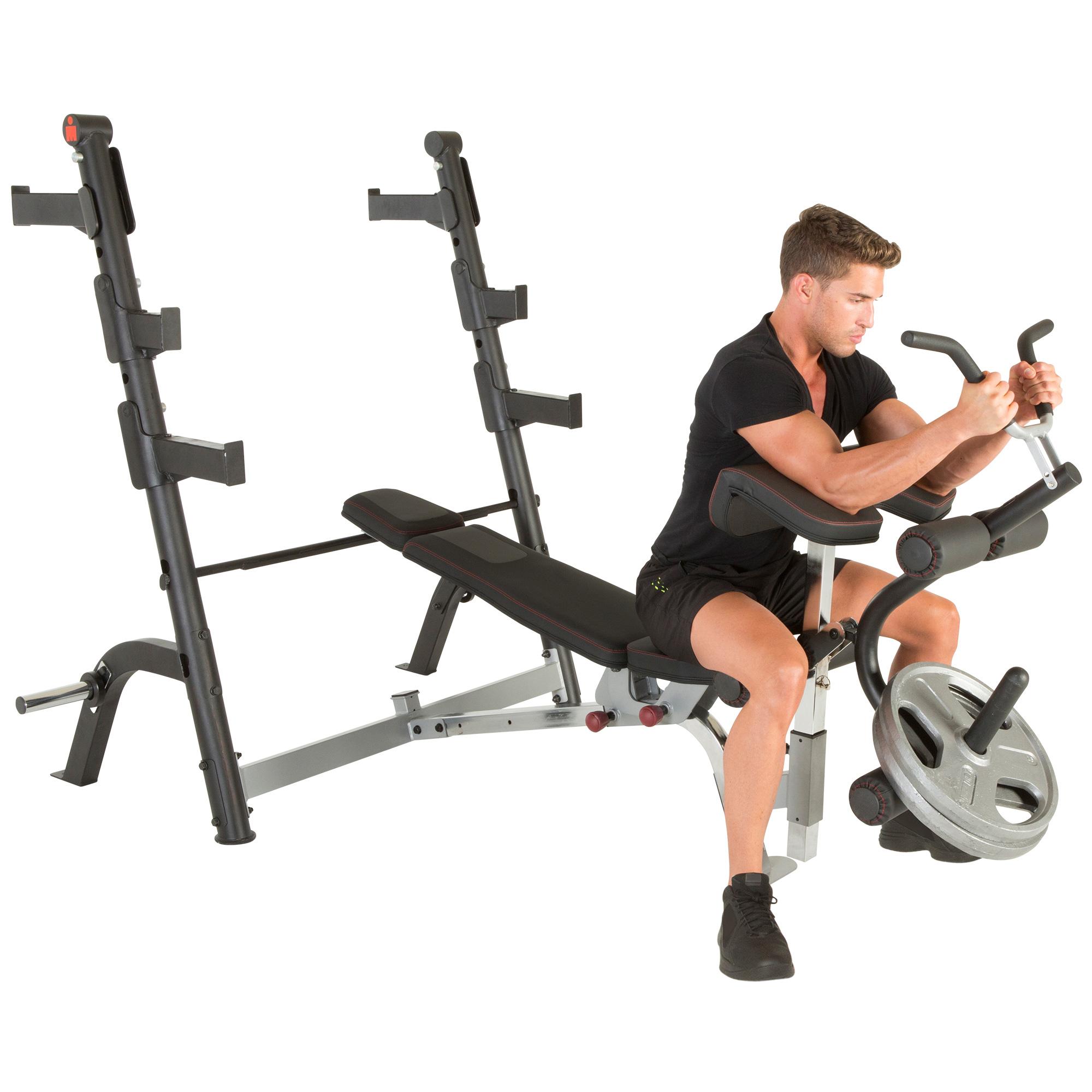Ironman X Class Weight Bench With Preacher Curl And Leg
